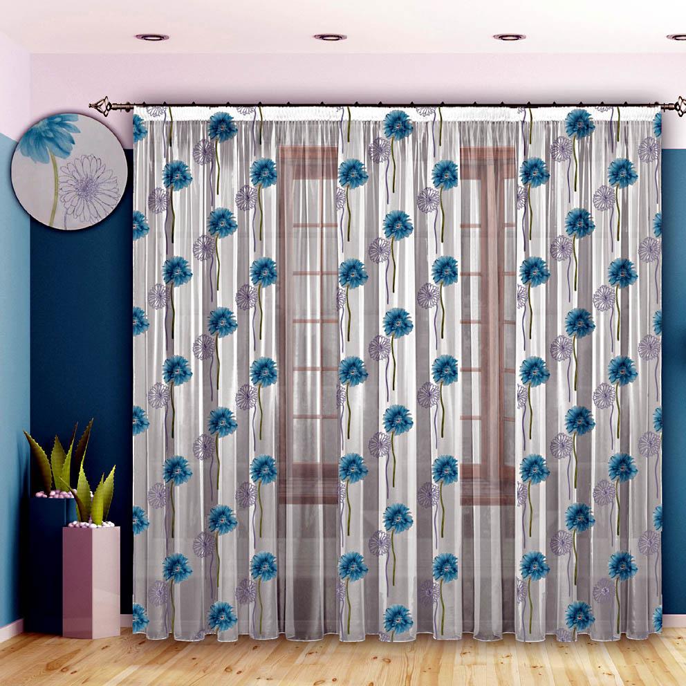 Шторы РеалТекс Классические шторы Счастье Цвет: Бирюза шторы реалтекс классические шторы alberta цвет персиковый молочный