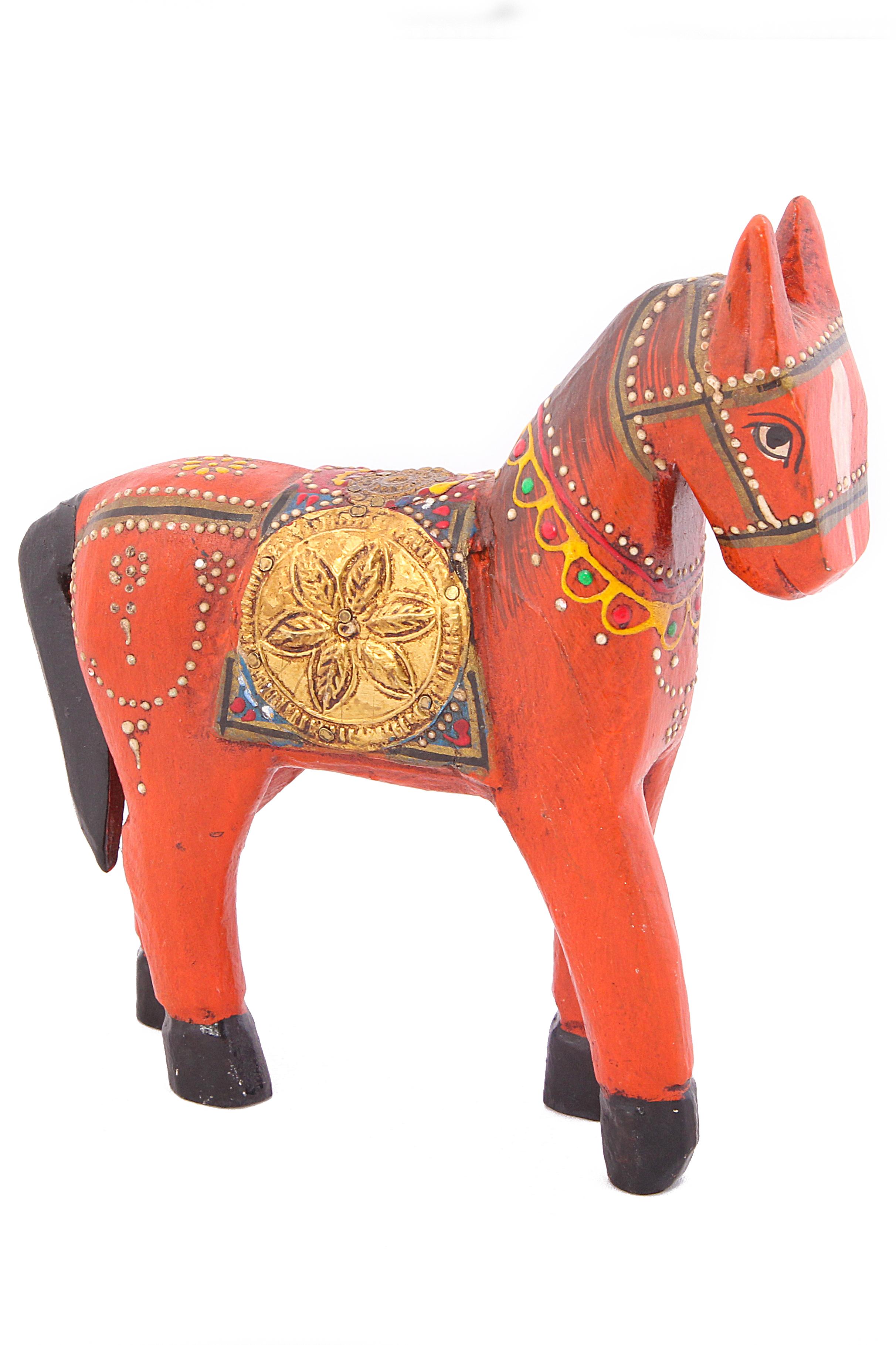{} Ганг Статуэтка Лошадь (4х16х16 см) ганг статуэтка слон 3х5х7 см