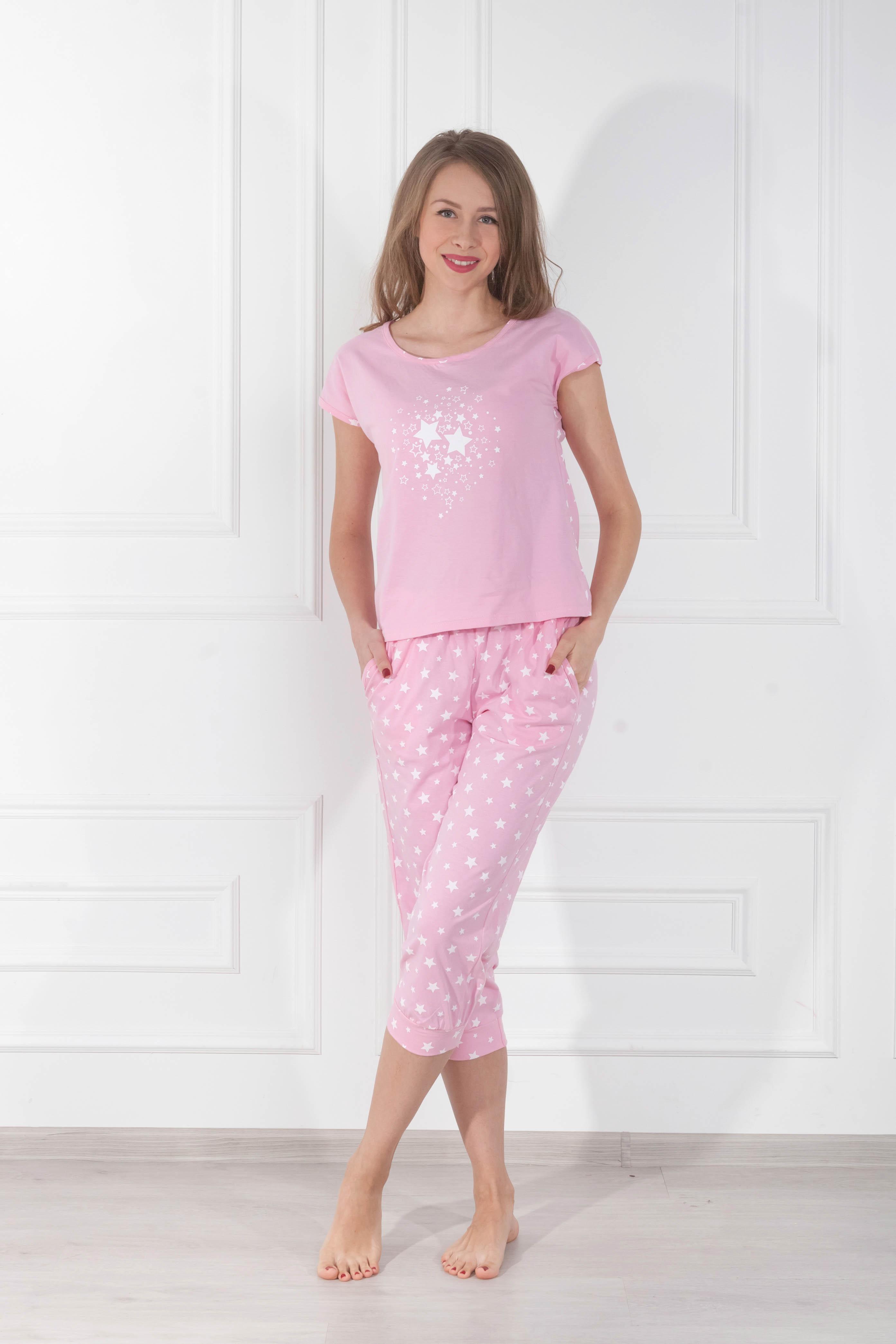 Пижамы Pastilla Пижама Стелла Цвет: Розовый (xxL) пижамы mia cara пижама paulina цвет розовый xxl