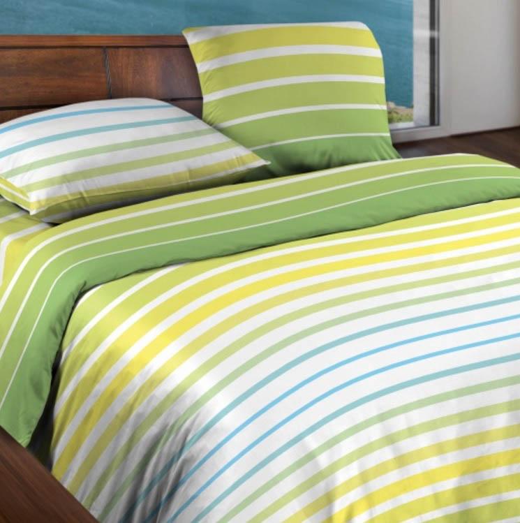 где купить Постельное белье WENGE Постельное белье Stripe Цвет: Желтый (2 сп. евро) по лучшей цене