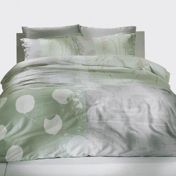 Постельное белье TAC Постельное белье Grisel Цвет: Мятный (2 сп. евро) постельное белье tac в спб