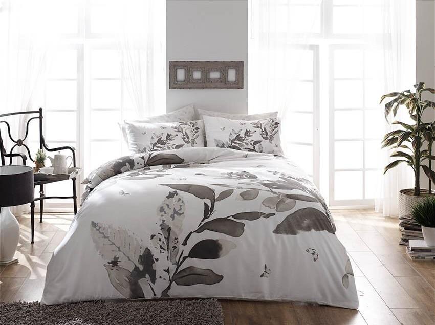 Постельное белье TAC Постельное белье Harvey Цвет: Серый (2 сп. евро) постельное белье tac в спб