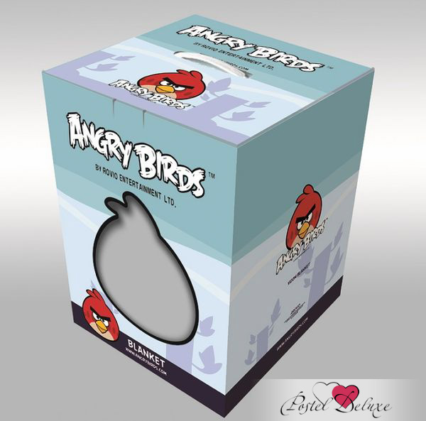 Детские покрывала, подушки, одеяла Tango Детский плед Angry Birds (160х220 см) ледянки 1 toy angry birds 94 см т56333