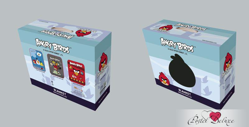 Детские покрывала, подушки, одеяла Tango Детский плед Angry Birds (150х200 см) ледянки 1 toy angry birds 94 см т56333