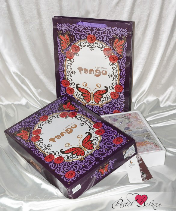 Постельное белье Tango Постельное белье Quincy  (2 сп. евро) пледы tango плед микрофибра tango фланель евро 200x220