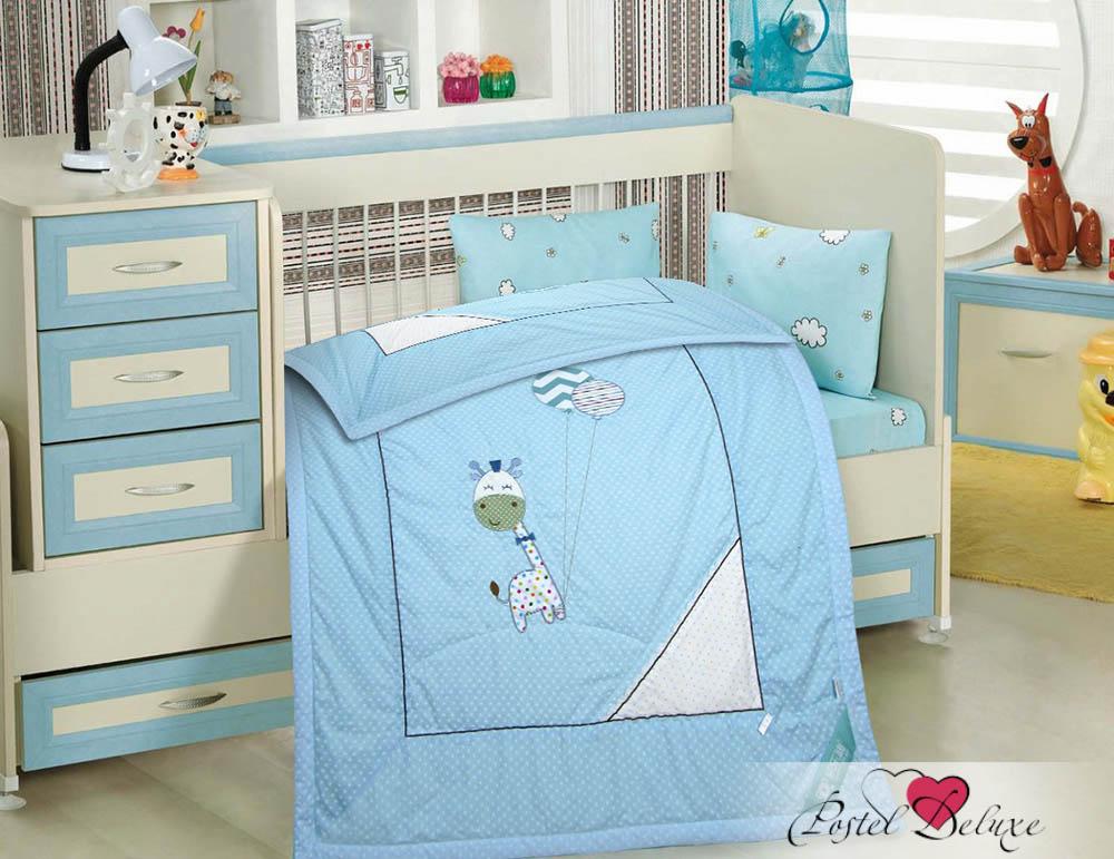 Детские покрывала, подушки, одеяла Tango Детское одеяло Жирафик Цвет: Голубой (120х150 см) tango tt6 120