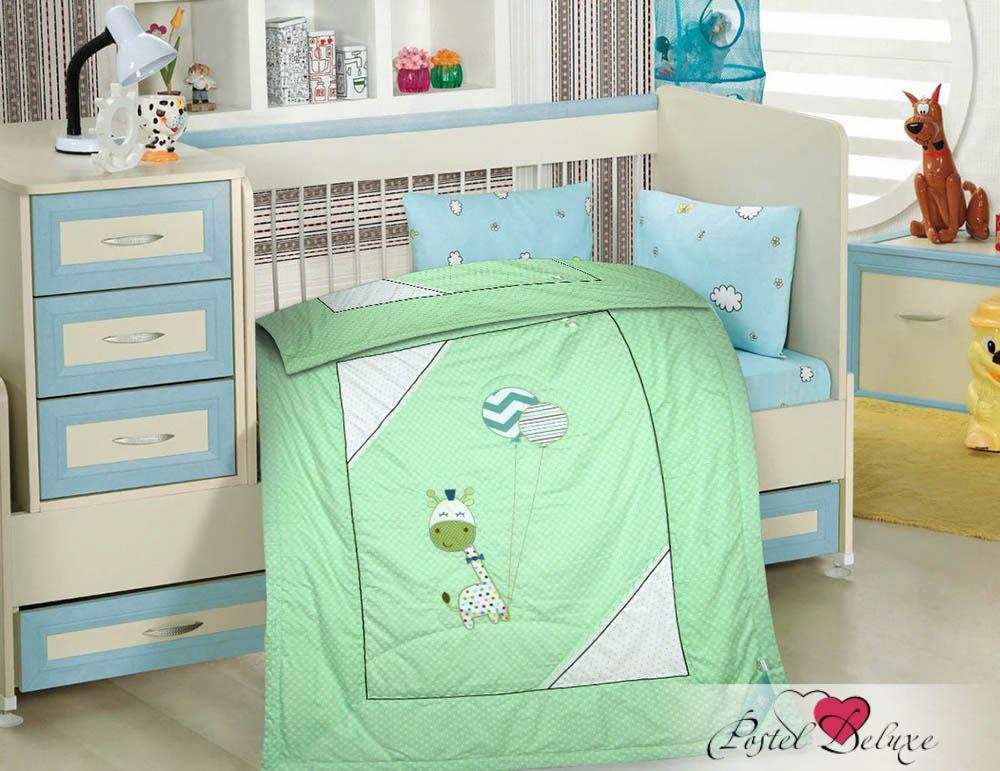 Детские покрывала, подушки, одеяла Tango Детское одеяло Жирафик Цвет: Зеленый (120х150 см) tango tt6 120