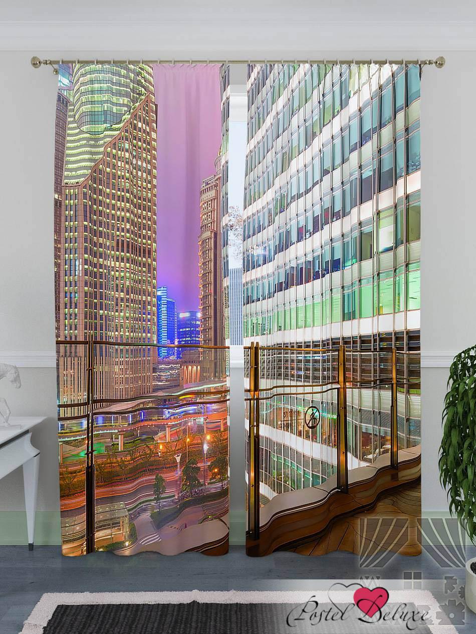 Шторы ТомДом Фотошторы Финансовый Центр В Шанхайском Фарфоре