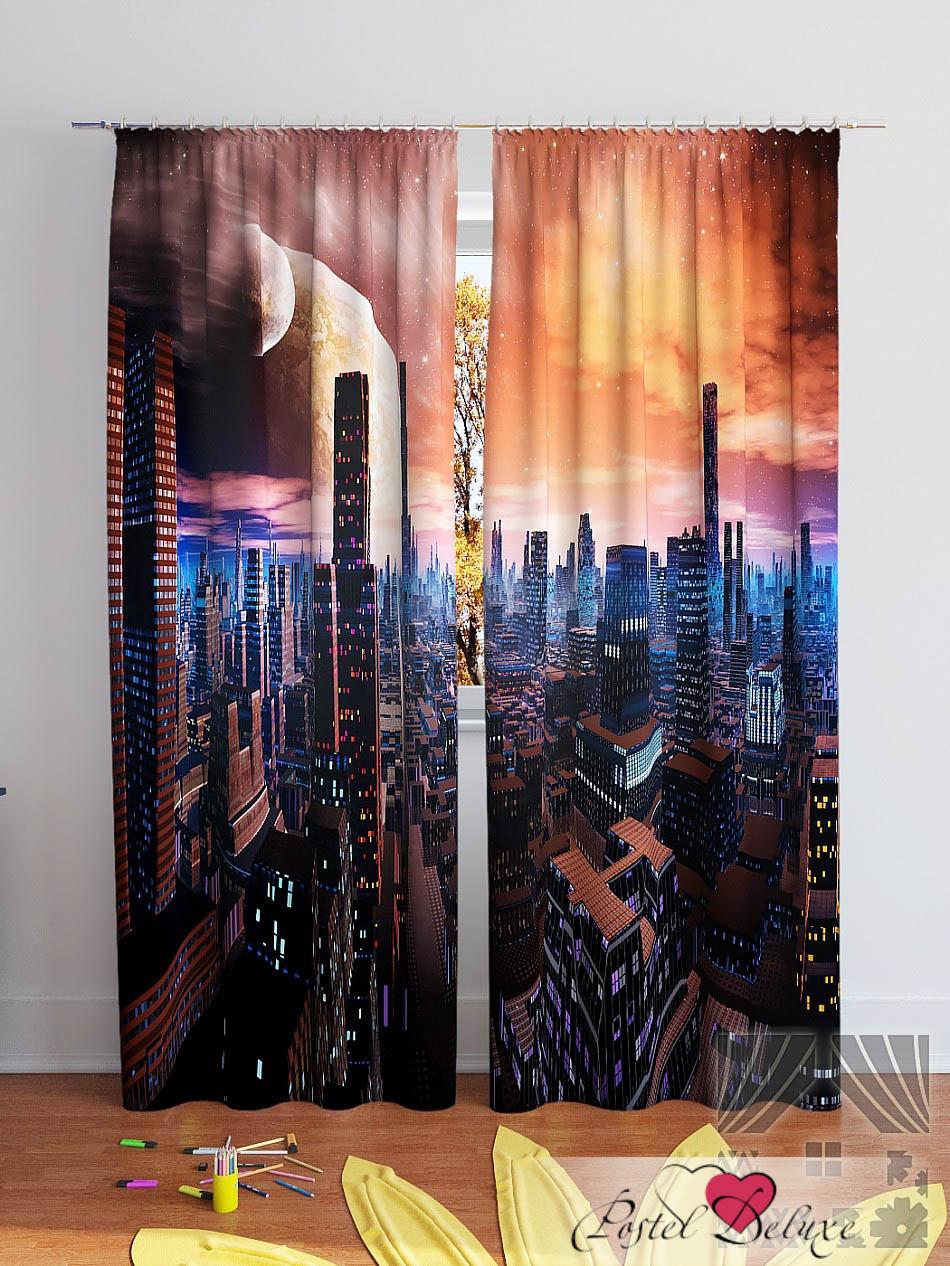 Шторы ТомДом Фотошторы Планетарный Мегаполис шторы томдом фотошторы планетарный мегаполис