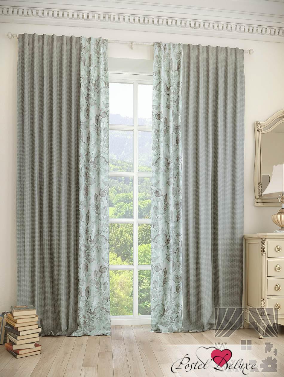 Шторы ТомДом Классические шторы Бунге Цвет: Серый