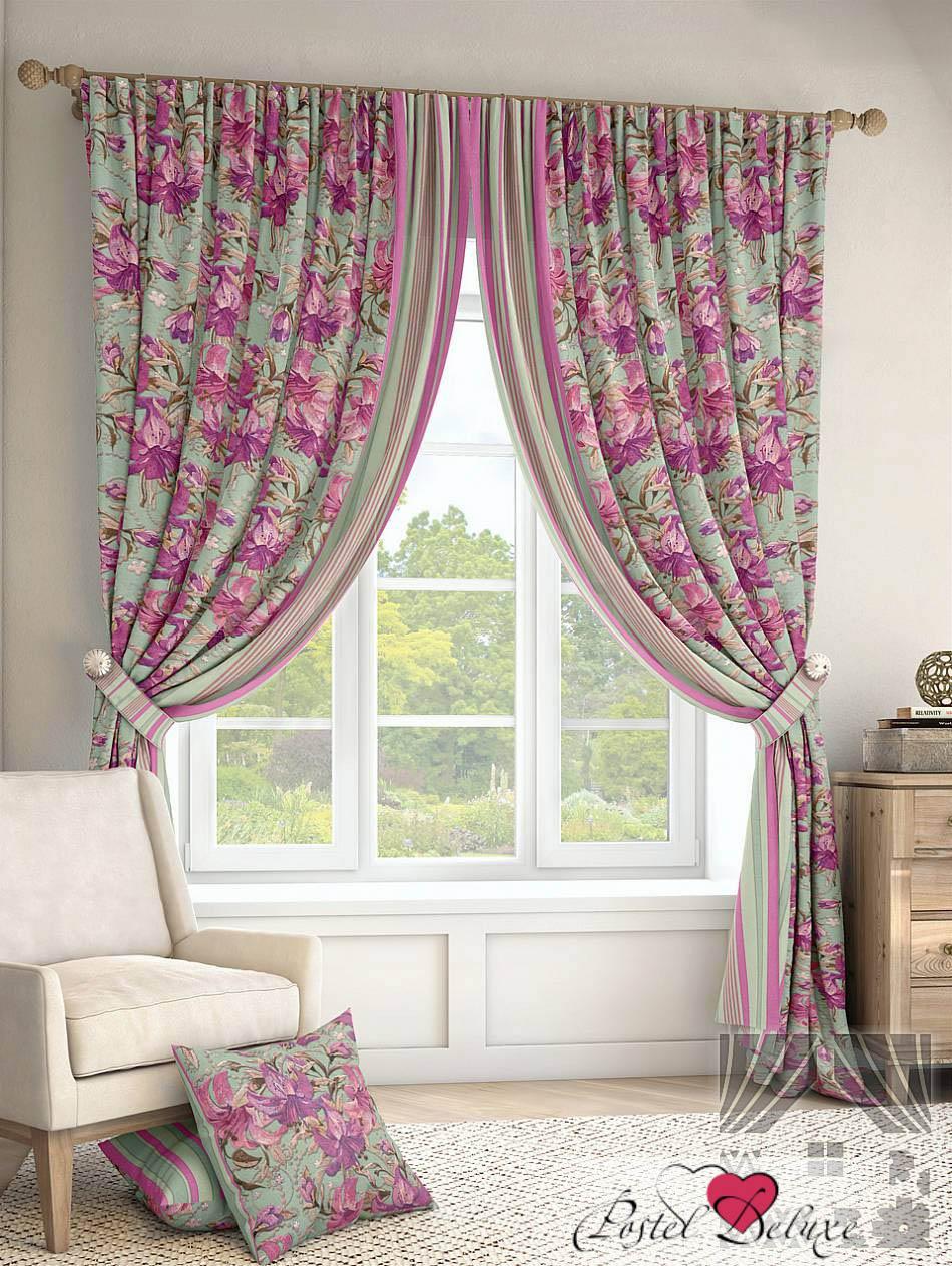Шторы ТомДом Классические шторы Гарви Цвет: Бирюзовый