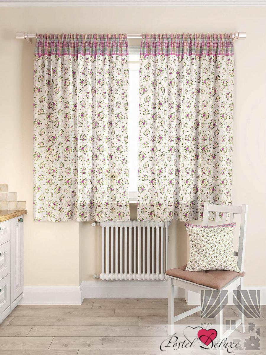 Шторы ТомДом Классические шторы Баунт Цвет: Сиреневый шторы tac классические шторы winx цвет персиковый 200x265 см