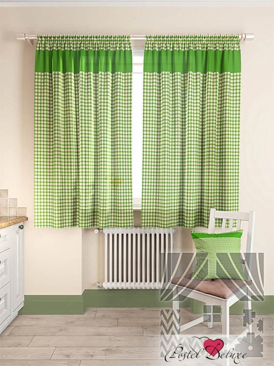 Шторы ТомДом Классические шторы Стазия Цвет: Зеленый