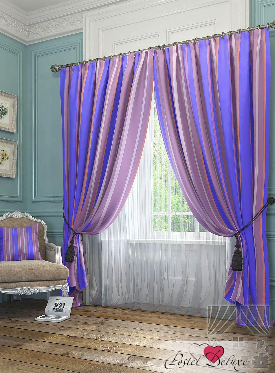 Шторы ТомДом Классические шторы Хайм Цвет: Фиолетовый