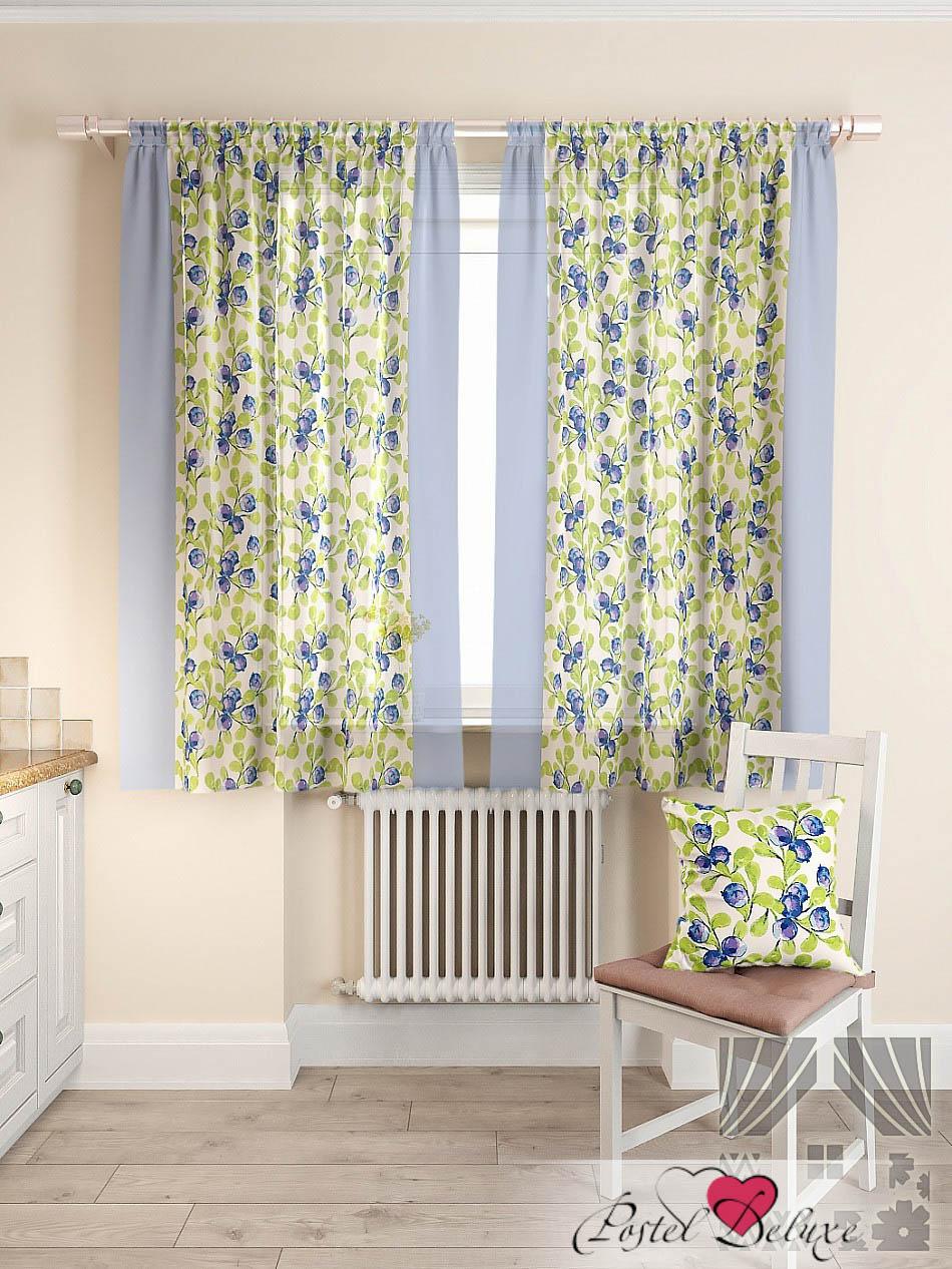 Шторы ТомДом Классические шторы Мертил Цвет: Синий томдом томдом классические шторы абель цвет малиновый