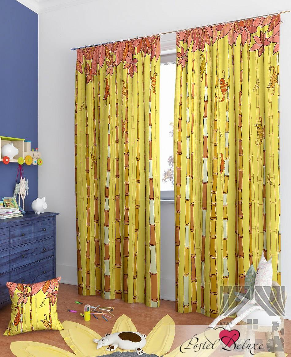 Шторы ТомДом Классические шторы Филан-К Цвет: Желтый