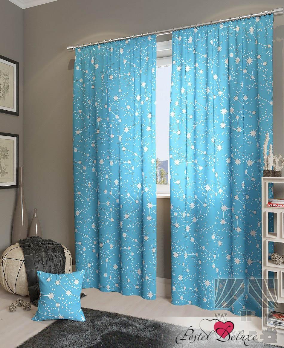 Шторы ТомДом Классические шторы Эбис-К Цвет: Голубой шторы kauffort классические шторы barolo