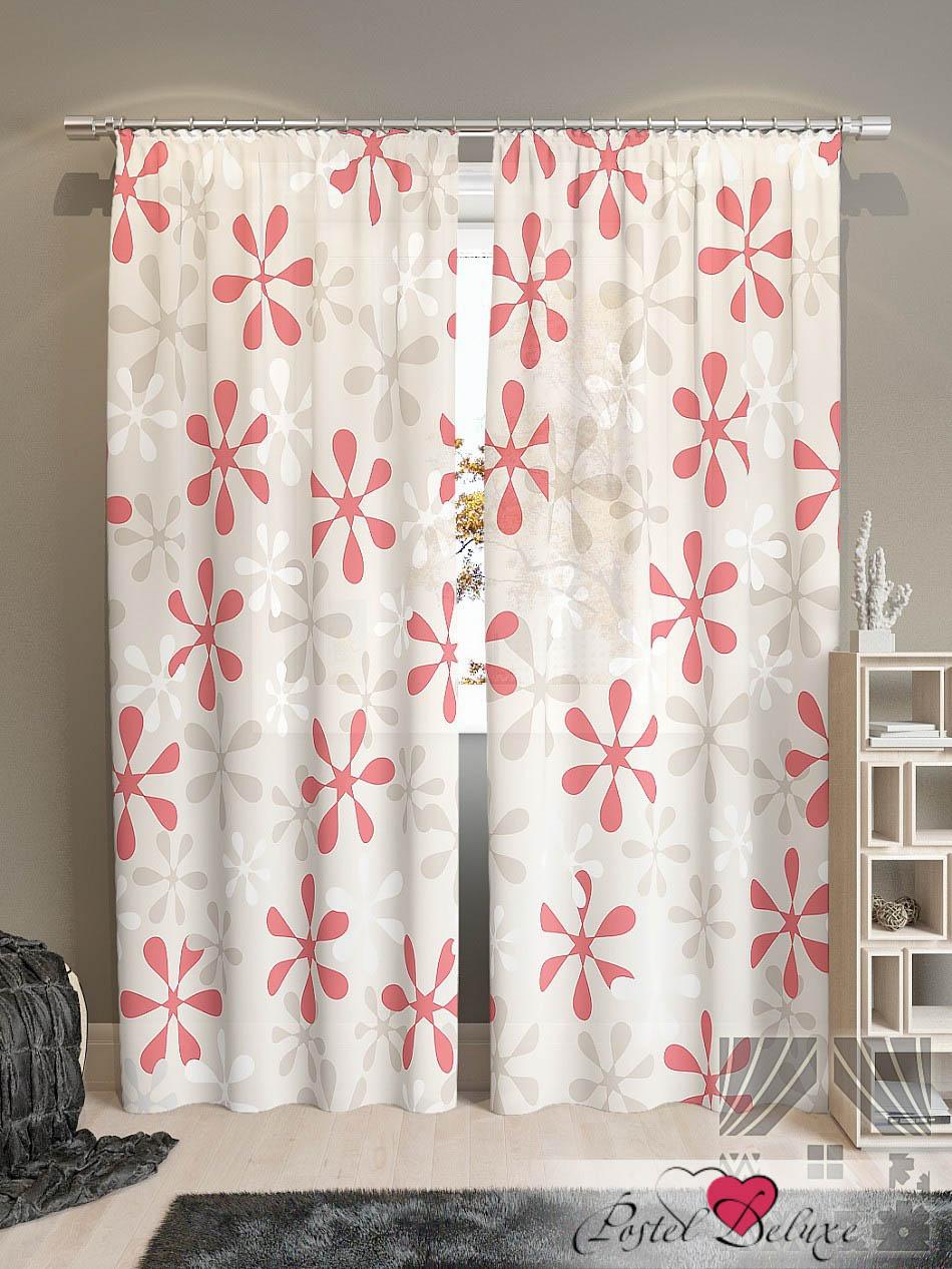Шторы ТомДом Классические шторы Клякса-К Цвет: Красный томдом томдом классические шторы абель цвет малиновый
