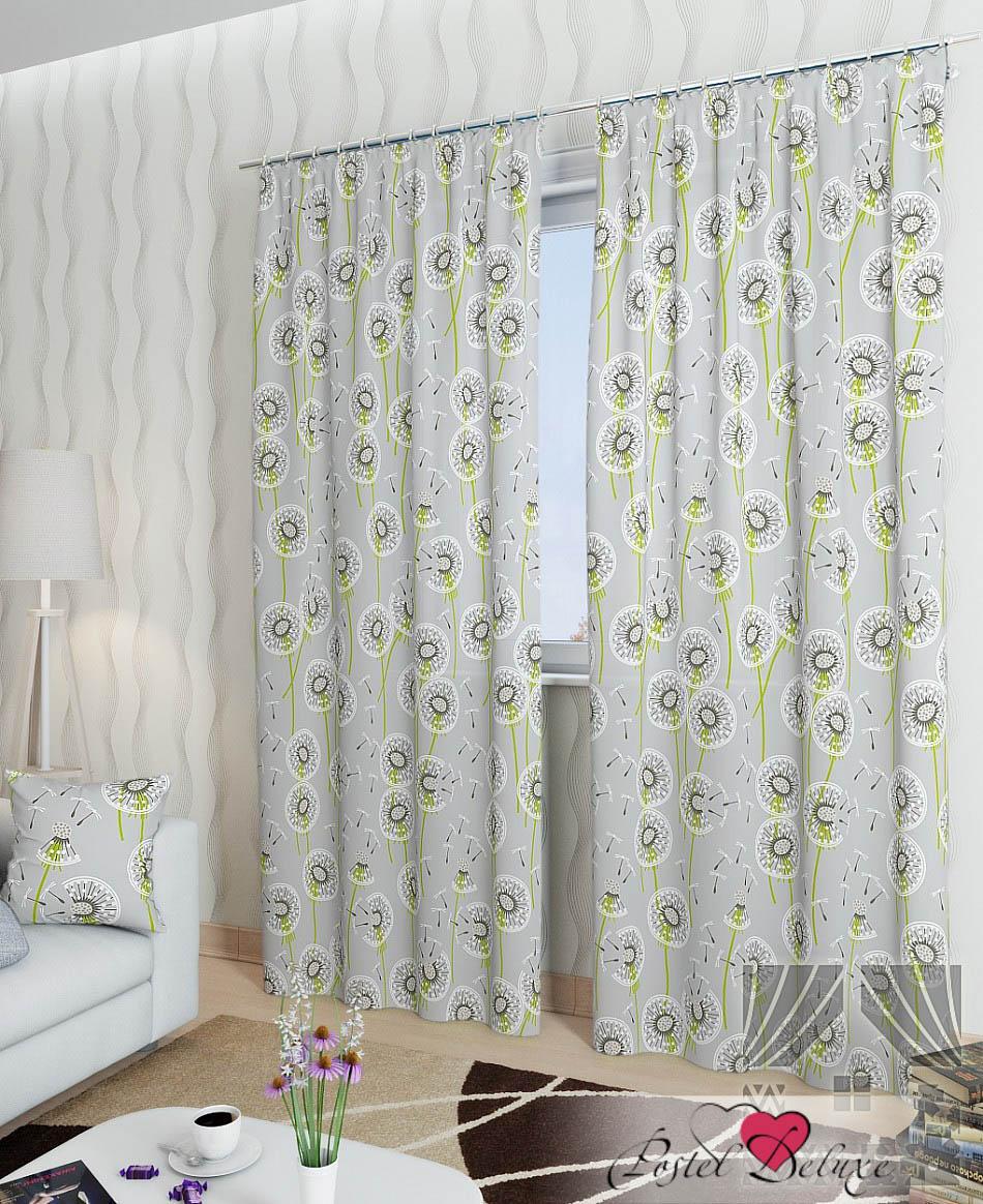 Шторы ТомДом Классические шторы Делли-К Цвет: Серый