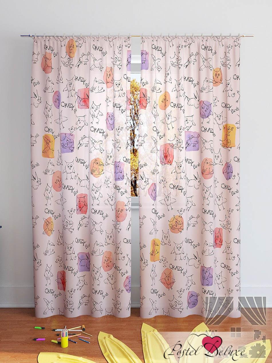 Шторы ТомДом Классические шторы Клод-К Цвет: Розовый