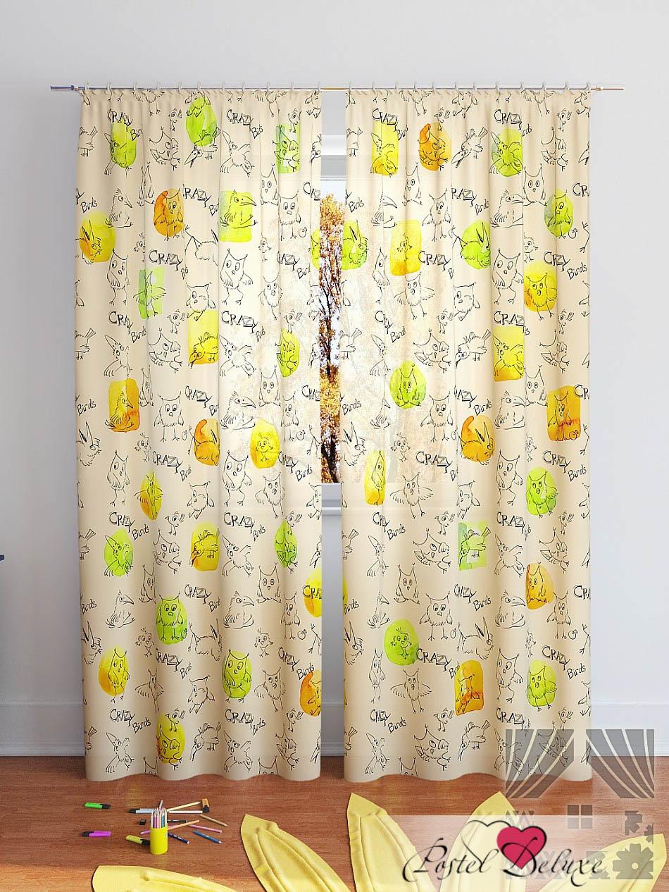 Шторы ТомДом Классические шторы Клод-К Цвет: Желтый