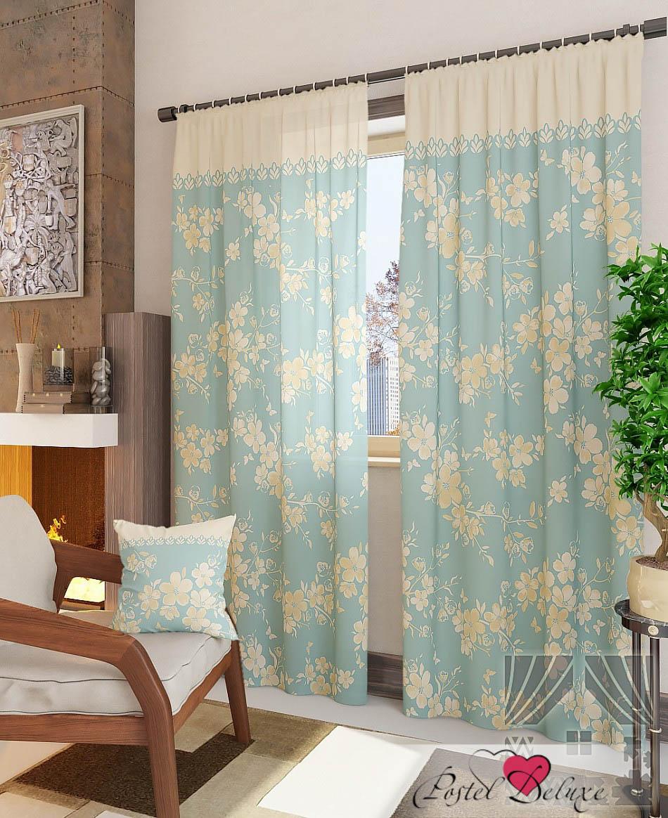 Шторы ТомДом Классические шторы Вивида-К Цвет: Голубой томдом томдом классические шторы абель цвет малиновый
