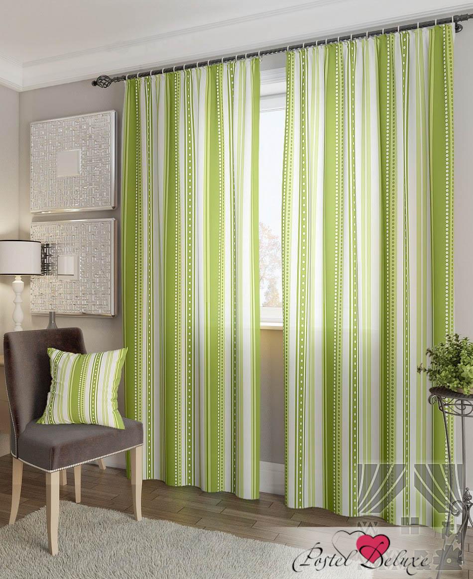 Шторы ТомДом Классические шторы Девон-К Цвет: Зеленый