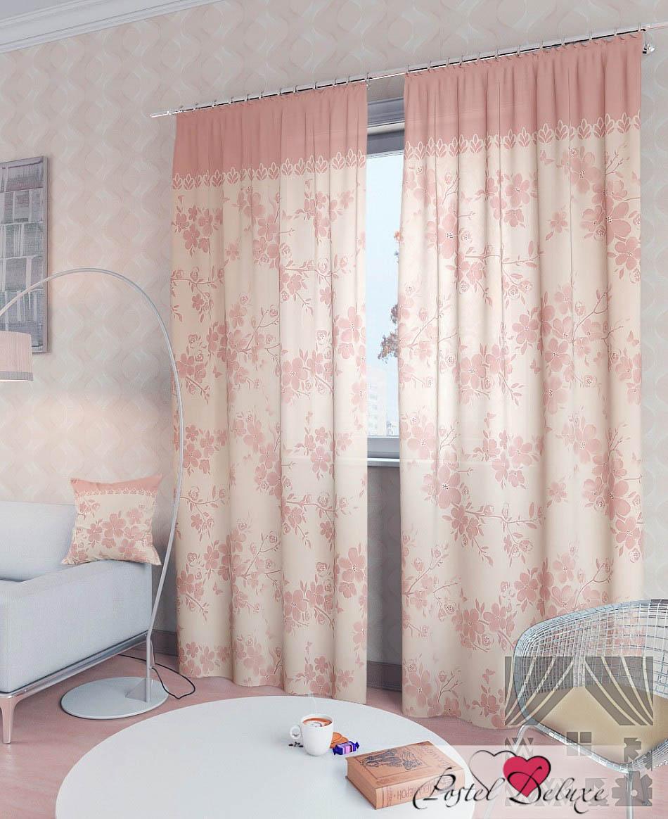 Шторы ТомДом Классические шторы Вивида-К Цвет: Розовый