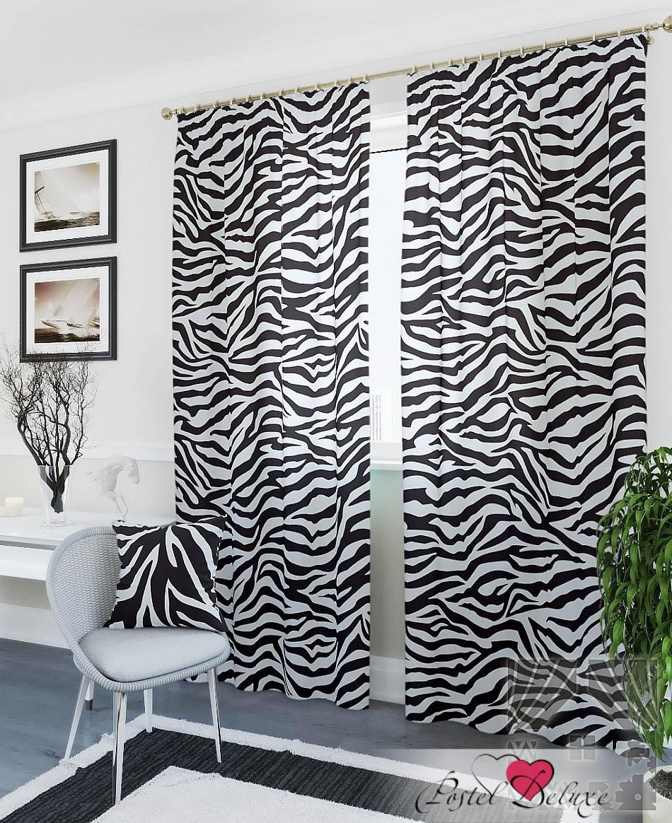 Шторы ТомДом Классические шторы Кея-К Цвет: Черный