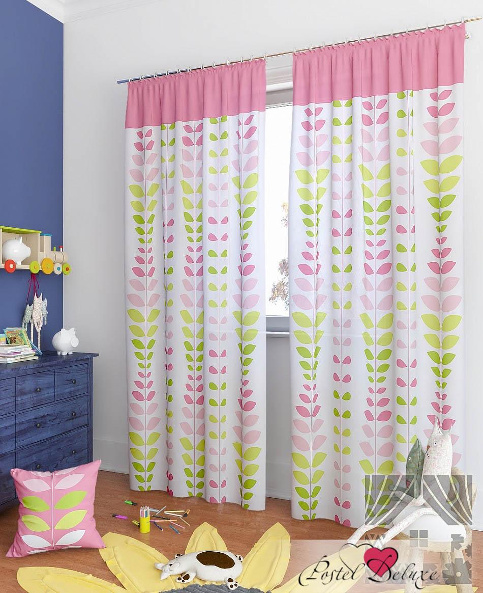 Шторы ТомДом Классические шторы Вейла-К Цвет: Розовый