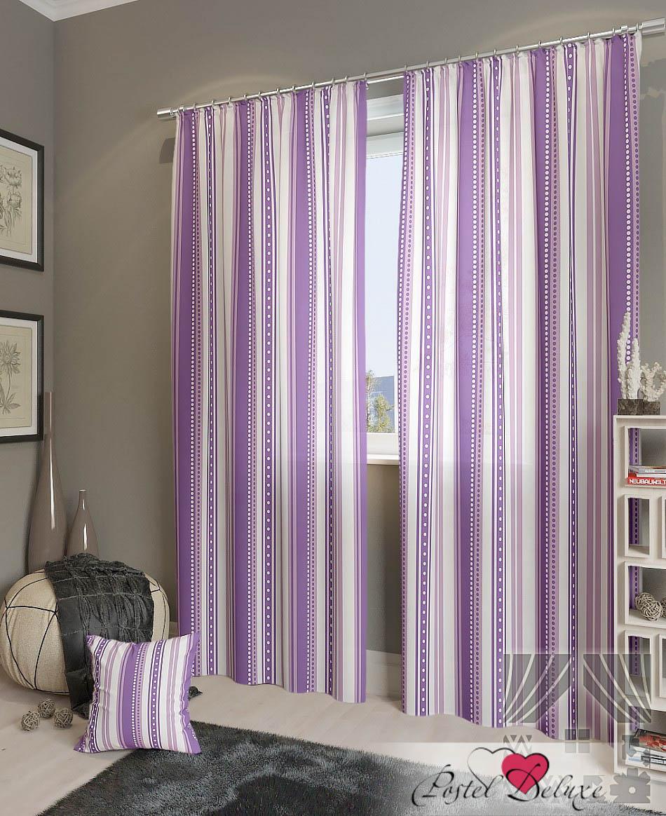 Шторы ТомДом Классические шторы Девон-К Цвет: Фиолетовый