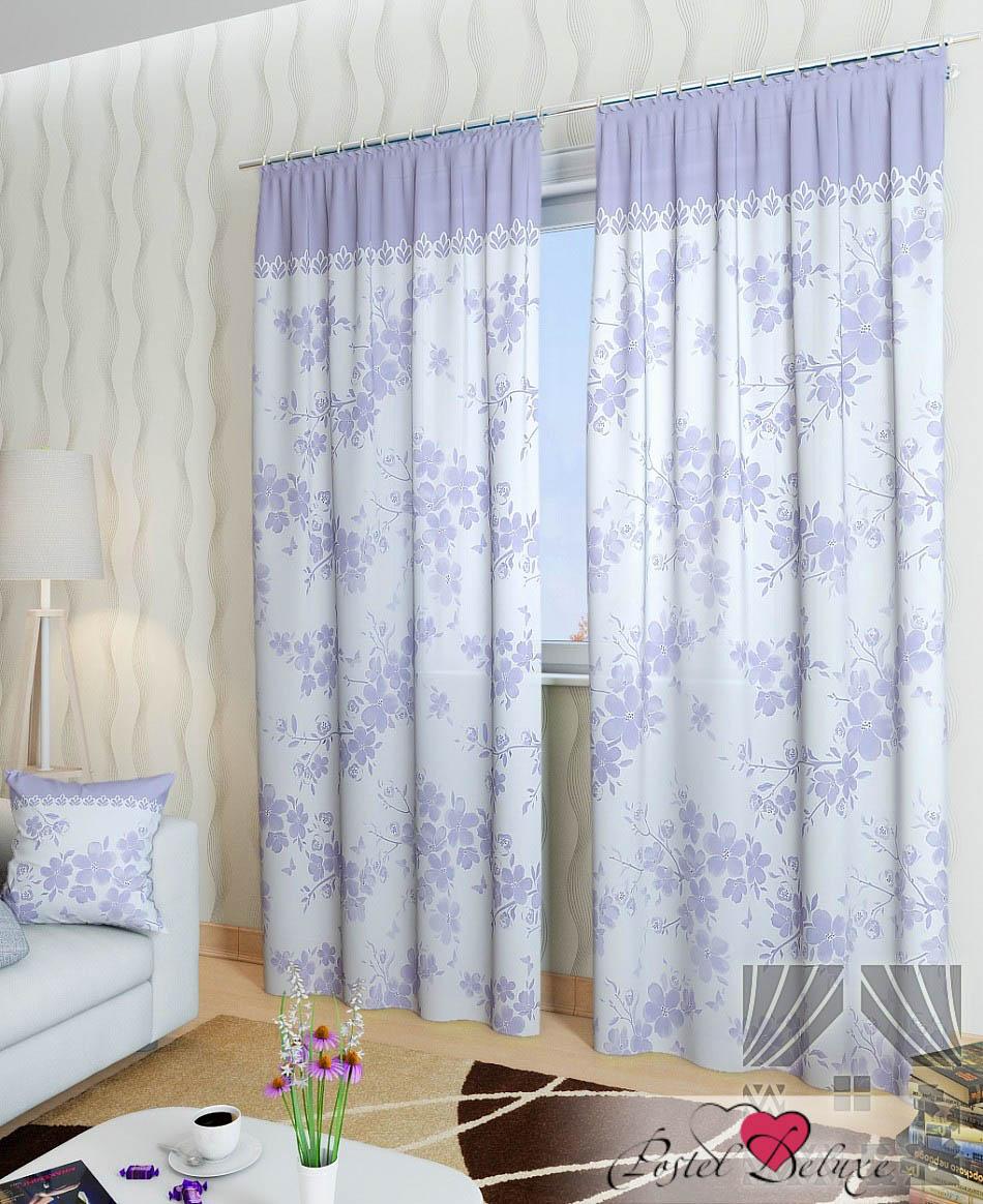Шторы ТомДом Классические шторы Вивида-К Цвет: Сиреневый
