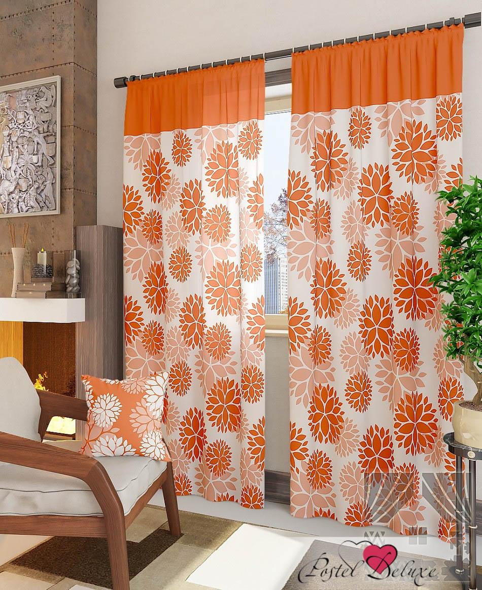 Шторы ТомДом Классические шторы Дарса-К Цвет: Персиковый шторы tac классические шторы winx цвет персиковый 200x265 см