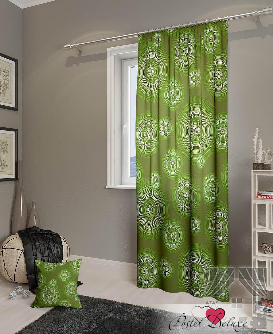 Шторы ТомДом Классические шторы Ван Гог-П Цвет: Зеленый томдом томдом классические шторы абель цвет малиновый