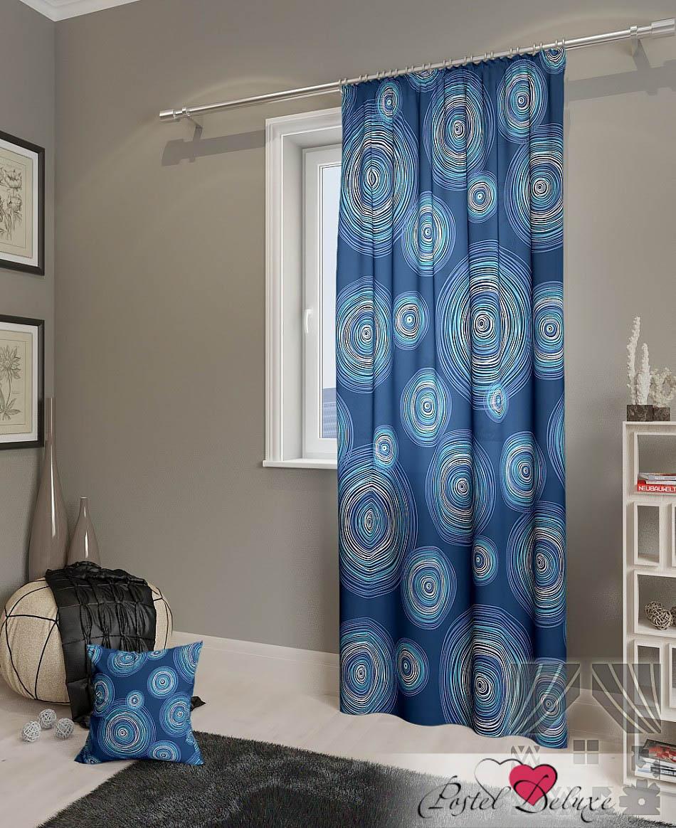 Шторы ТомДом Классические шторы Ван Гог-П Цвет: Цвет: Синий