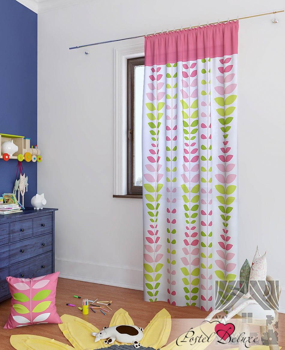 Шторы ТомДом Классические шторы Вейла-П Цвет: Розовый