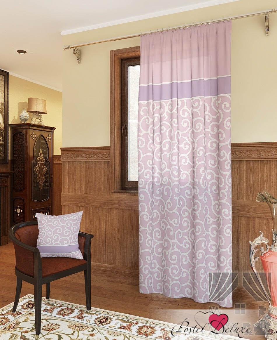 Шторы ТомДом Классические шторы Илвин-П Цвет: Розовый шторы tac классические шторы winx цвет персиковый 200x265 см
