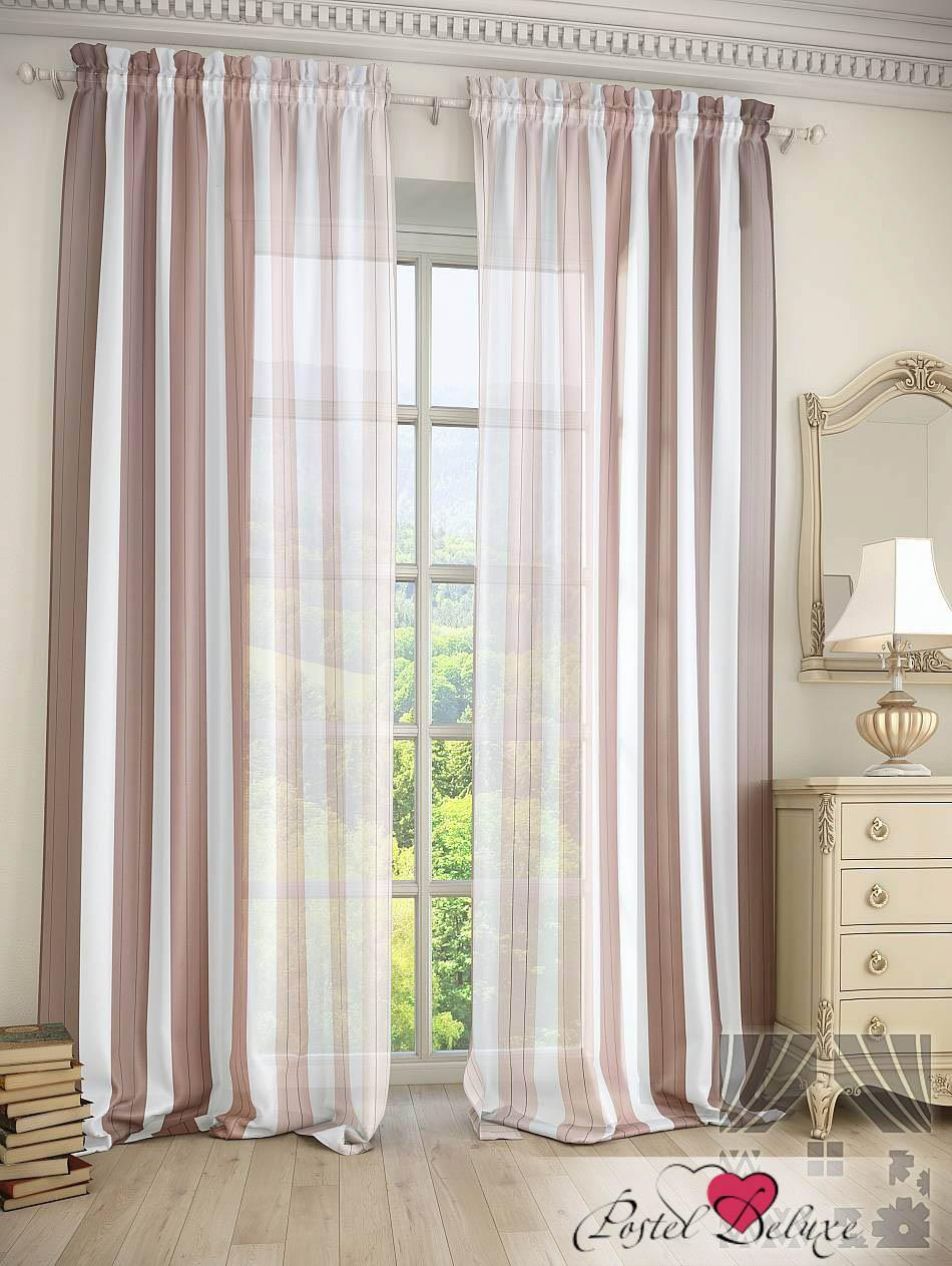 Шторы ТомДом Классические шторы Фория Цвет: Коричневый шторы tac классические шторы winx цвет персиковый 200x265 см