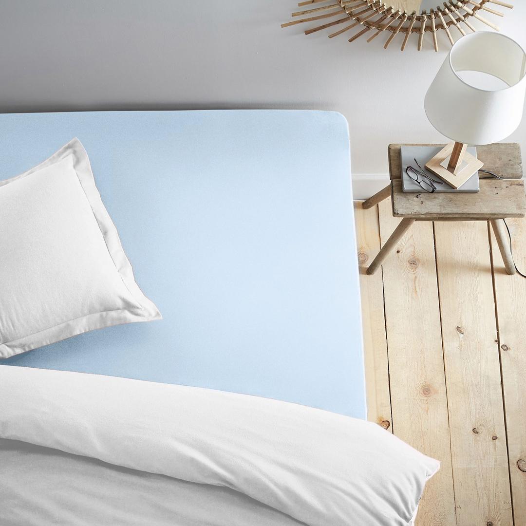 Простыни Dome Простыня на резинке Dome Цвет: Голубой (200х200) простыни lool простыня на резинке fitted sheet