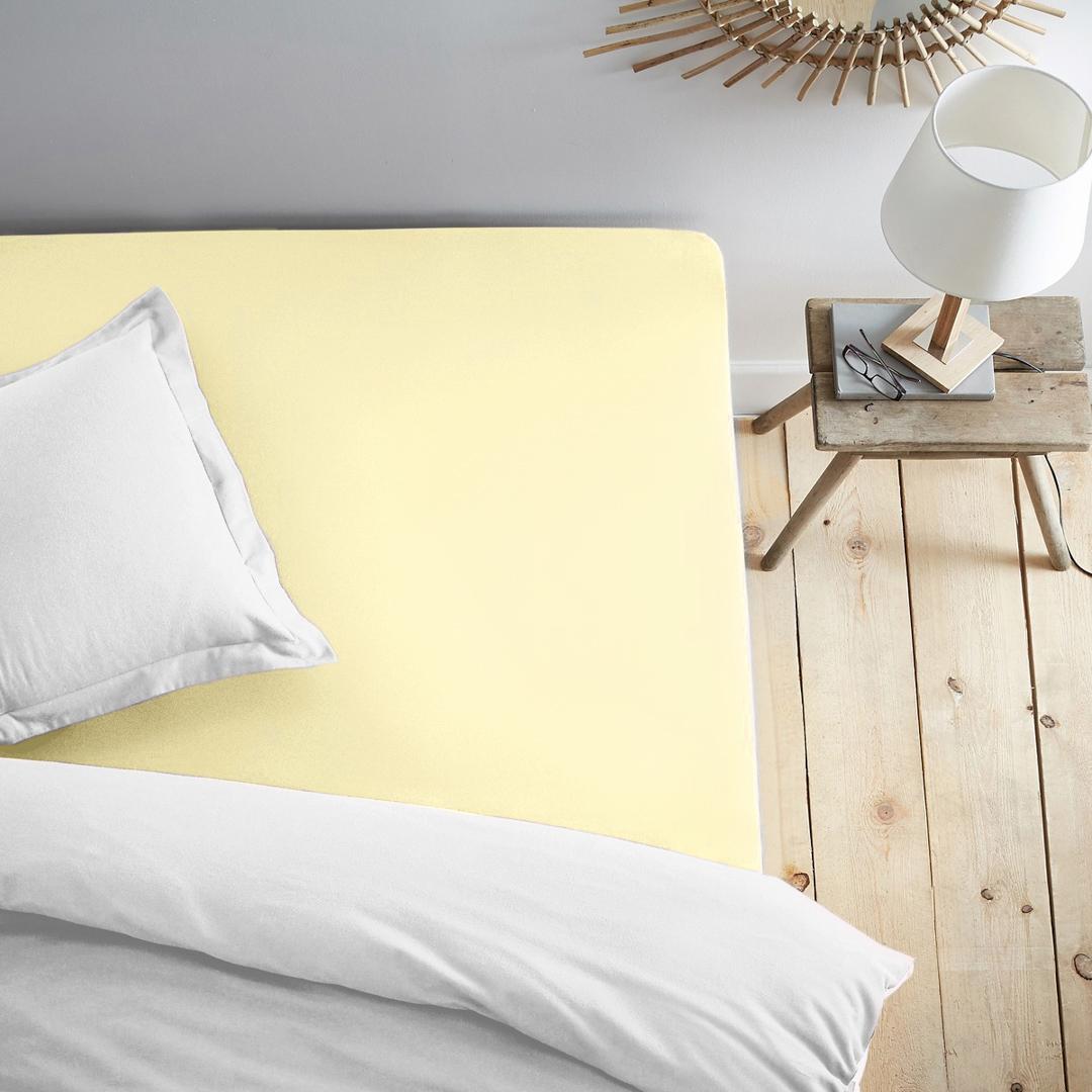 Простыни Dome Простыня на резинке Dome Цвет: Нежно-Желтый (200х200)