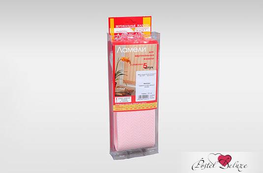Карнизы и аксессуары для штор Уют Комплект ламелей Магнолия Цвет: Розовый