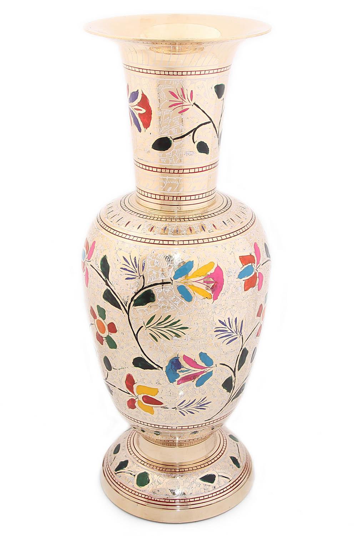 {} Ганг Ваза Цветы (14х14х39 см) ганг ваза фруктовница ракушка