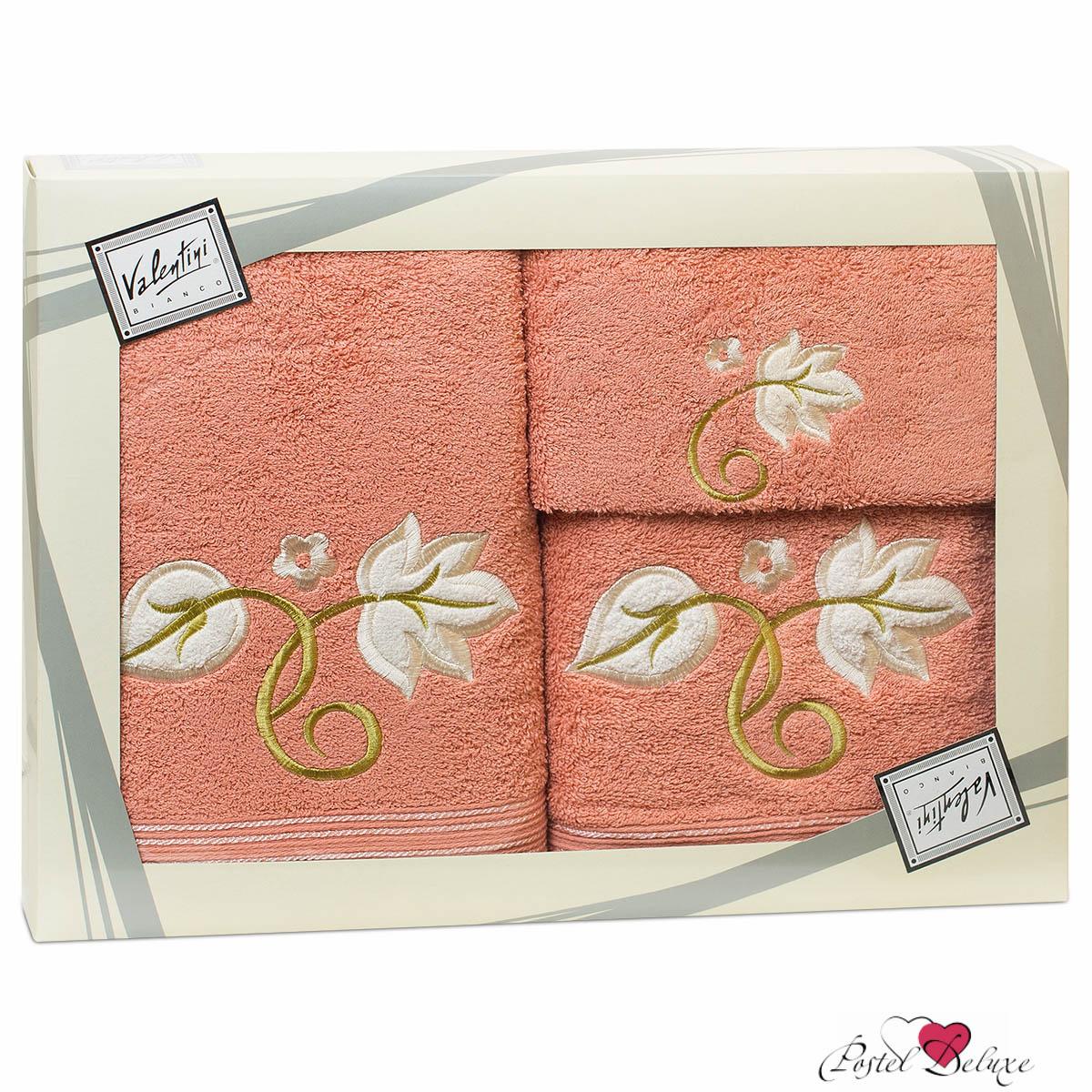 Полотенца Valentini Полотенце Flower Цвет: Коралловый (Набор)