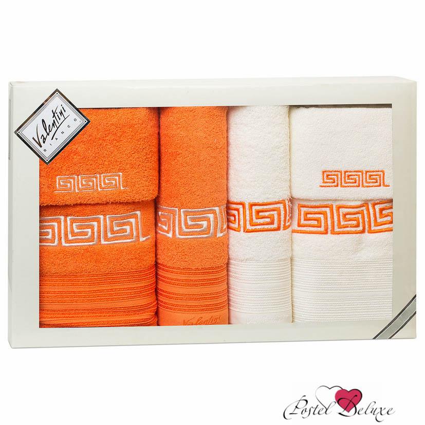 Полотенца Valentini Полотенце Fashion Цвет: Оранжевый, Кремовый (Набор) полотенца tango полотенце merrill 75х150 см