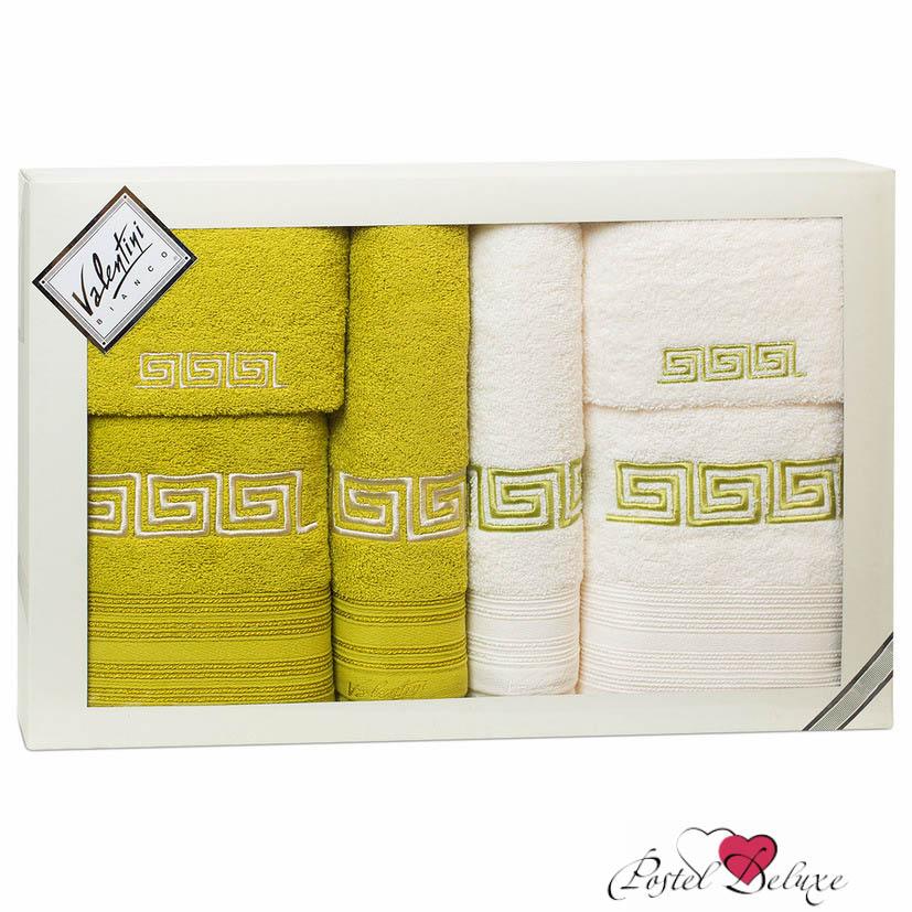 Полотенца Valentini Полотенце Fashion Цвет: Салатовый, Кремовый (Набор) полотенца tango полотенце merrill 75х150 см