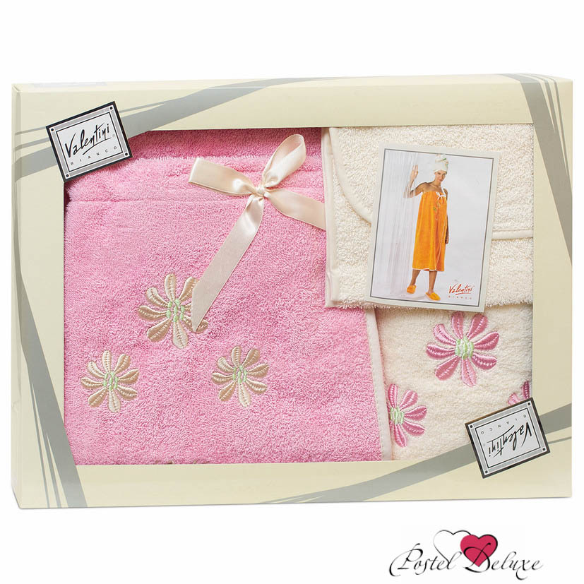 Сауны, бани и оборудование Valentini Набор для сауны Camomile Цвет: Розовый сауны бани и оборудование valentini набор для сауны fashion цвет песочный