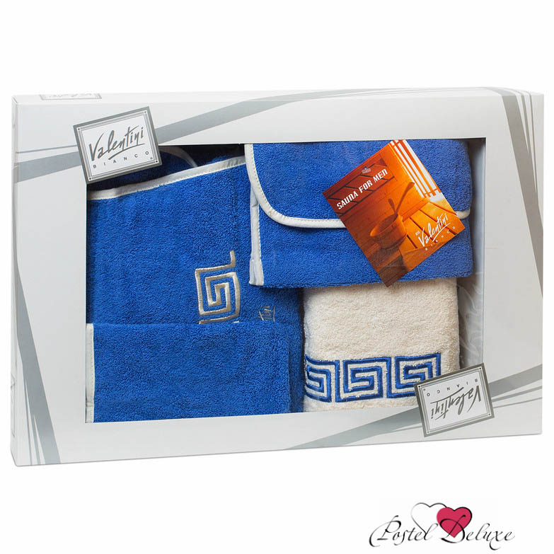 Сауны, бани и оборудование Valentini Набор для сауны Fashion Цвет: Синий сауны бани и оборудование valentini набор для сауны fashion цвет песочный
