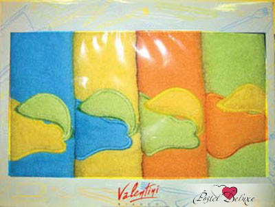 {} Valentini Кухонное полотенце Pera Fortes (50х50 см - 4 шт) полотенце valentini комплект кухонный 50x50 limoni fortes