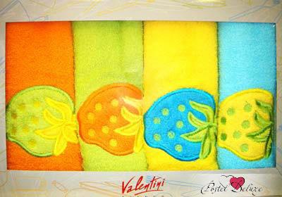 {} Valentini Кухонное полотенце Fresa Fortes (50х50 см - 4 шт) полотенце valentini комплект кухонный 50x50 limoni fortes