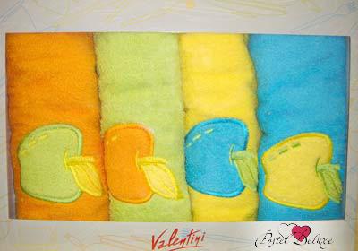 {} Valentini Кухонное полотенце ManzanaFortes (50х50 см - 4 шт) полотенце valentini комплект кухонный 50x50 limoni fortes